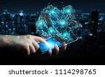 businessman on blurred... | Shutterstock . vector #1114298765