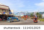 tacloban city  philippines  ... | Shutterstock . vector #1114312025