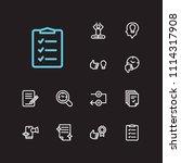 multitasking icons set. reward...