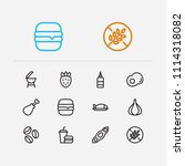nutrition icons set. coffee...