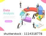 flat isometric vector concept... | Shutterstock .eps vector #1114318778