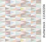 vector seamless geometric... | Shutterstock .eps vector #111432206