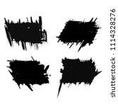 vector set of grunge brush... | Shutterstock .eps vector #1114328276