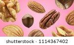 creative layout made pattern...   Shutterstock . vector #1114367402
