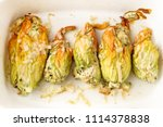 Baked Zucchini Or Courgette...