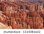 bryce canyon national park ... | Shutterstock . vector #1114381622