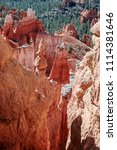bryce canyon national park ... | Shutterstock . vector #1114381646