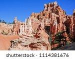 bryce canyon national park ... | Shutterstock . vector #1114381676