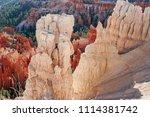 bryce canyon national park ... | Shutterstock . vector #1114381742