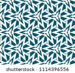 seamless pattern with symmetric ... | Shutterstock .eps vector #1114396556