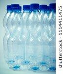 plastic beverage bottles. the... | Shutterstock . vector #1114411475