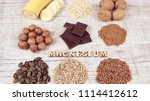 healthy food nutrition dieting... | Shutterstock . vector #1114412612