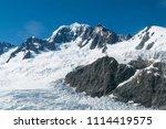franz josef glacier natural...   Shutterstock . vector #1114419575