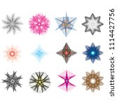 geometric patterns etudes... | Shutterstock .eps vector #1114427756
