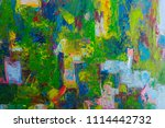 abstract oil painted background | Shutterstock . vector #1114442732
