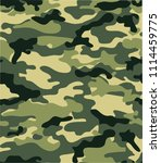 seamless camouflage background... | Shutterstock .eps vector #1114459775