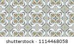 talavera pattern.  azulejos... | Shutterstock .eps vector #1114468058