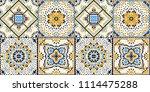 talavera pattern.  indian... | Shutterstock .eps vector #1114475288