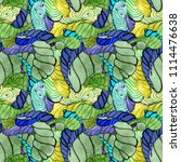 watercolor pattern for bright... | Shutterstock . vector #1114476638