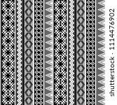 ethnic geometric motifs...   Shutterstock . vector #1114476902