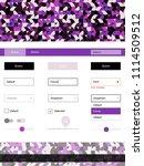 dark purple  pink vector web ui ...