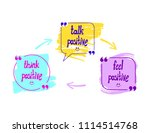 vector talk bubbles with words  ... | Shutterstock .eps vector #1114514768