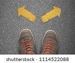 a choice concept | Shutterstock . vector #1114522088