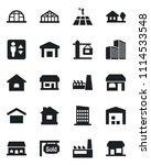 set of vector isolated black... | Shutterstock .eps vector #1114533548
