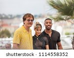 Small photo of CANNES, FRANCE - MAY 12, 2018: Michael Shannon, Sofia Boutella and Michael B. Jordan attend the photocall for the 'Farenheit 451' during the 71st annual Cannes Film Festival