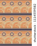 seamless decorative pattern... | Shutterstock .eps vector #1114559582