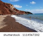 santorini  greece  june 16th ... | Shutterstock . vector #1114567202