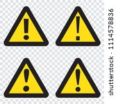 danger sign  danger icon | Shutterstock .eps vector #1114578836