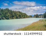 baker river at  carretera... | Shutterstock . vector #1114599932