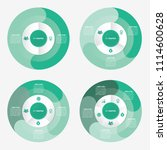 circle infographic template pie ...   Shutterstock .eps vector #1114600628
