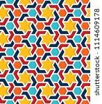 color islamic ornament pattern. ...   Shutterstock .eps vector #1114609178