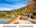 fuschl am see  austria  ...   Shutterstock . vector #1114616102
