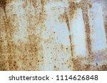 metal rust background metal...   Shutterstock . vector #1114626848