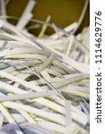 pile of shredded documentary... | Shutterstock . vector #1114629776