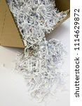 pile of shredded documentary... | Shutterstock . vector #1114629872