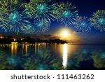 Festive New Year's Fireworks...
