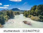 baker river at  carretera... | Shutterstock . vector #1114637912