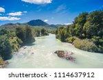 baker river at  carretera... | Shutterstock . vector #1114637912