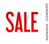 sale background  banner... | Shutterstock .eps vector #1114656395