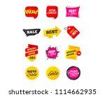 sale banners. best offers ...   Shutterstock .eps vector #1114662935
