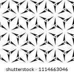 seamless pattern with symmetric ... | Shutterstock .eps vector #1114663046