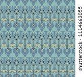 seamless decorative pattern... | Shutterstock .eps vector #1114663055