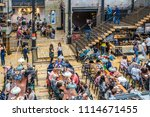 manchester  united kingdom  ... | Shutterstock . vector #1114671455