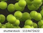 abstract 3d rendering of modern ...   Shutterstock . vector #1114672622