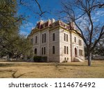 courthouse in sonora  tx | Shutterstock . vector #1114676492