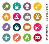 magic icon set | Shutterstock .eps vector #1114681415